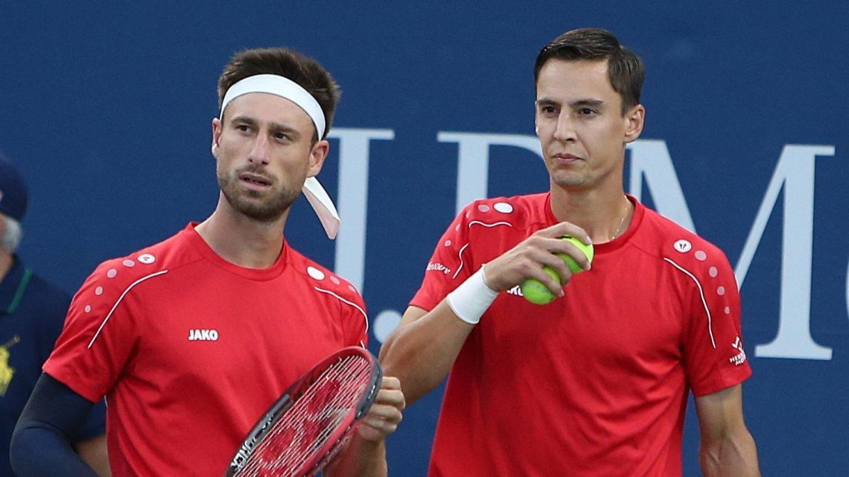 Joran Vliegen et Sander Gillé après leur défaite en demi-finales de l'European Open d'Anvers : «Ce fut une très bonne semaine»