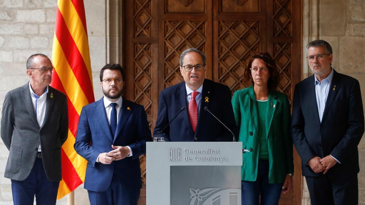 Crise en Catalogne: Barcelone réclame à l'Espagne des «négociations sans conditions»