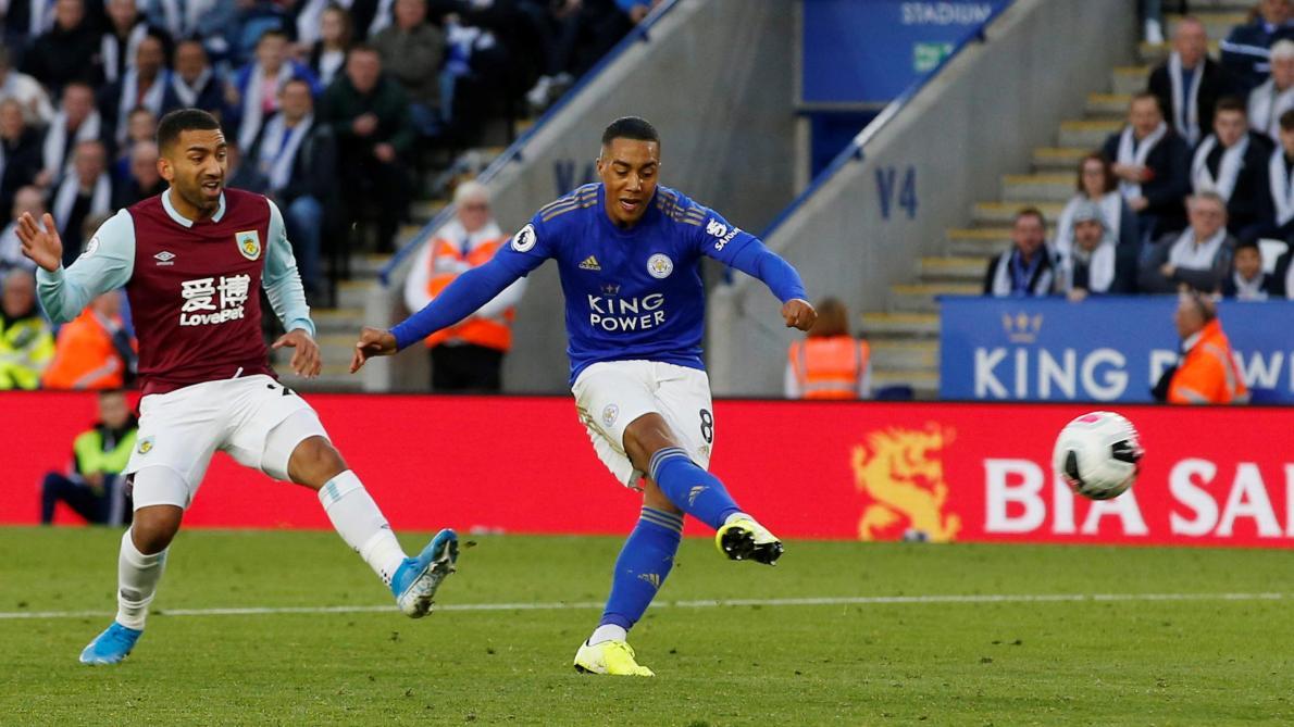 Premier League: Youri Tielemans inscrit son 2e but de la saison et offre la victoire à Leicester
