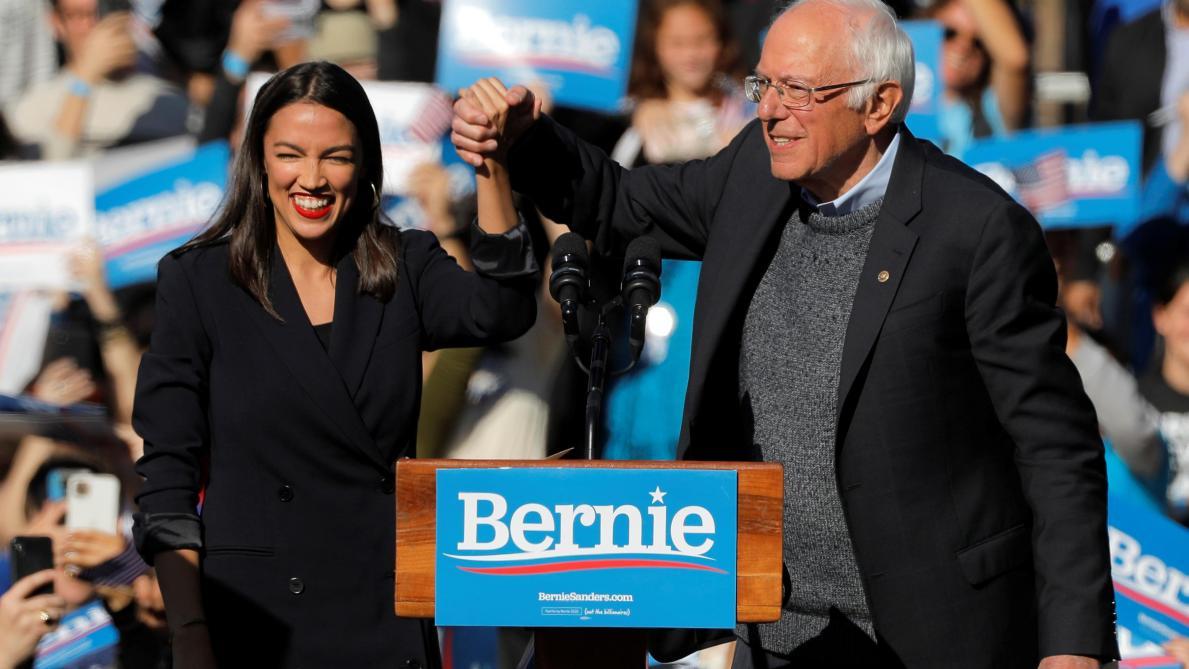 Présidentielle 2020 aux Etats-Unis: «AOC», figure de la jeune garde démocrate, soutient Bernie Sanders (photos et vidéo)