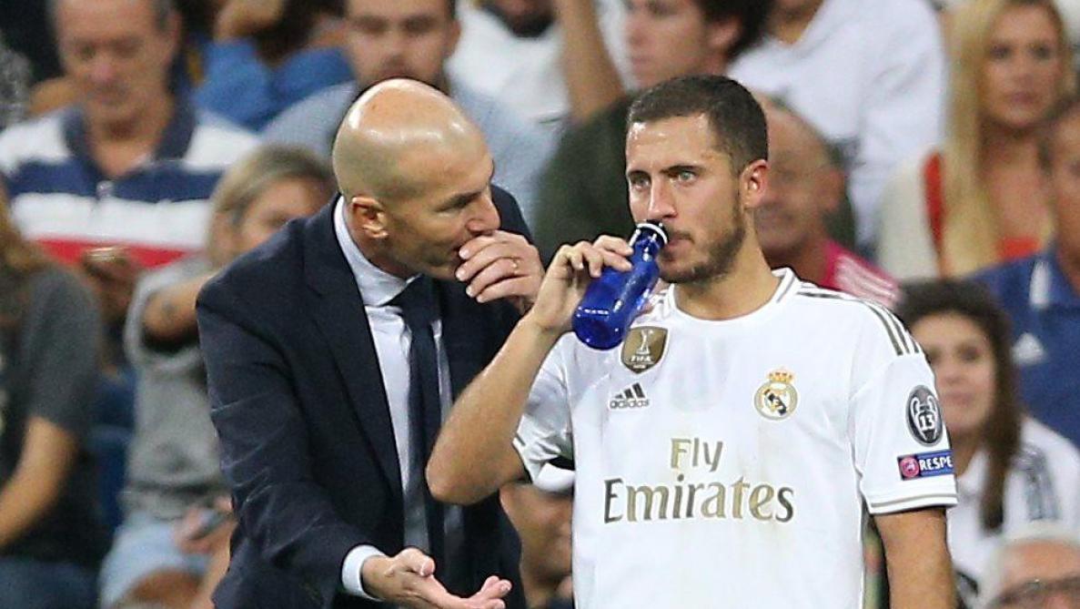 Real : Zidane rassurant concernant l'état physique d'Eden Hazard