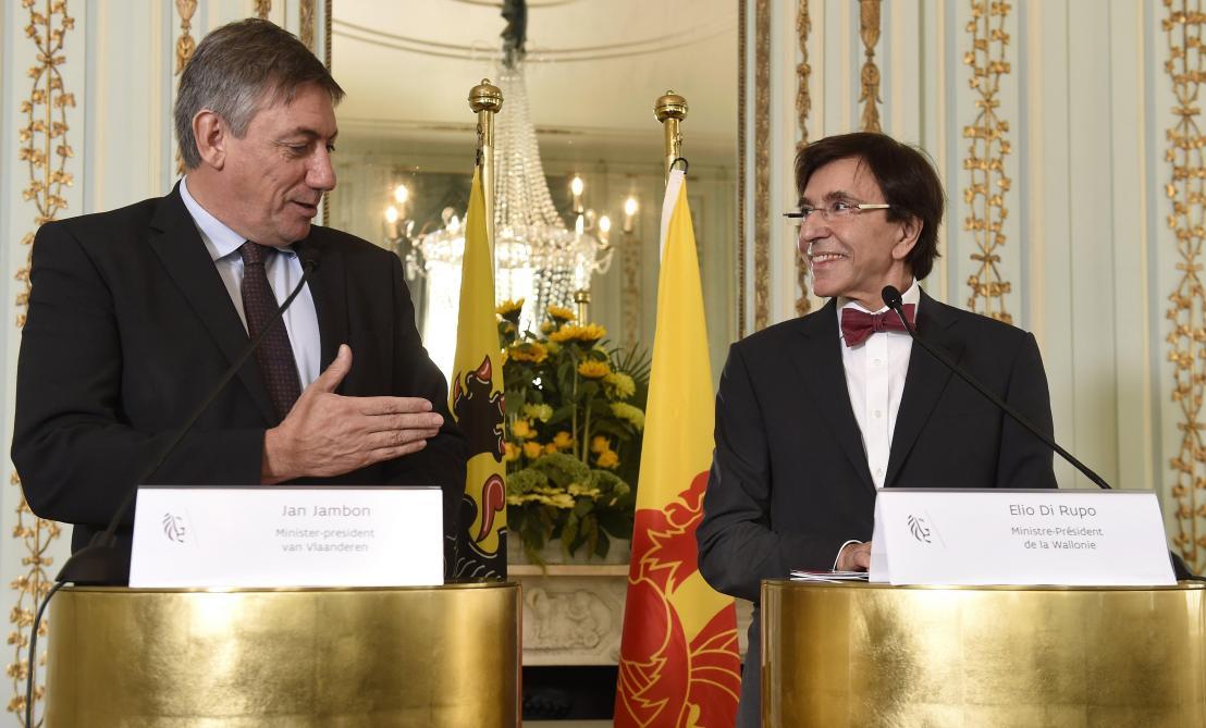 Di Rupo et Jambon après Demotte et Bourgeois: PS et N-VA ne se quittent plus