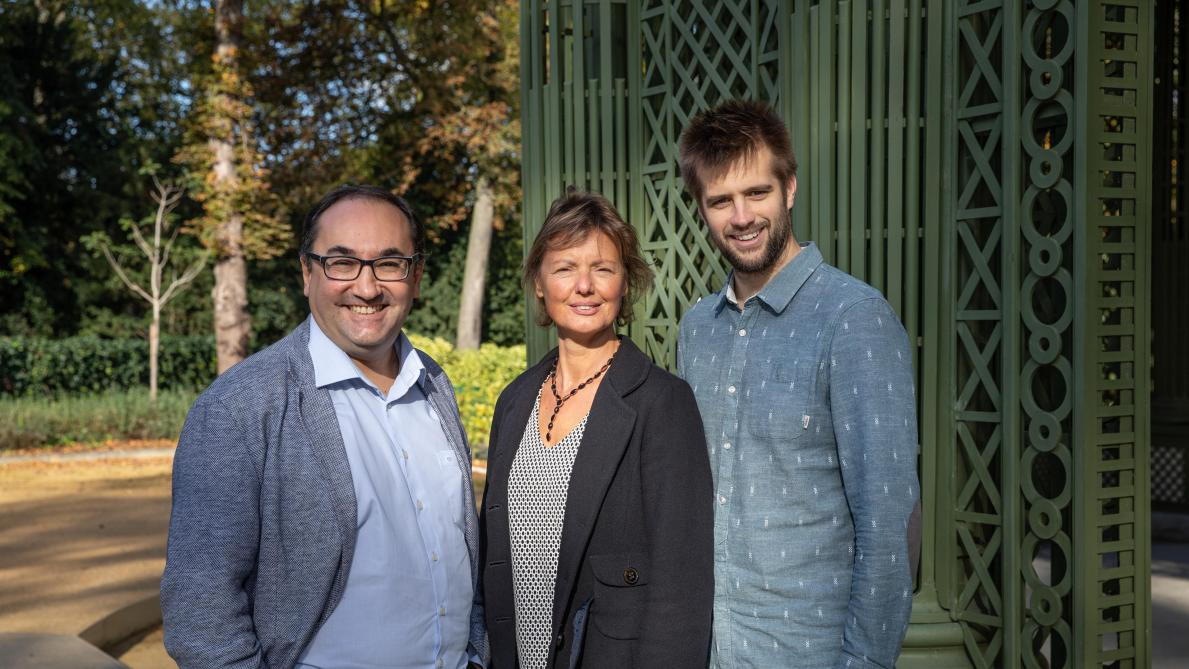 Ahmed Laaouej, Martin Casier et Isabelle Emmery