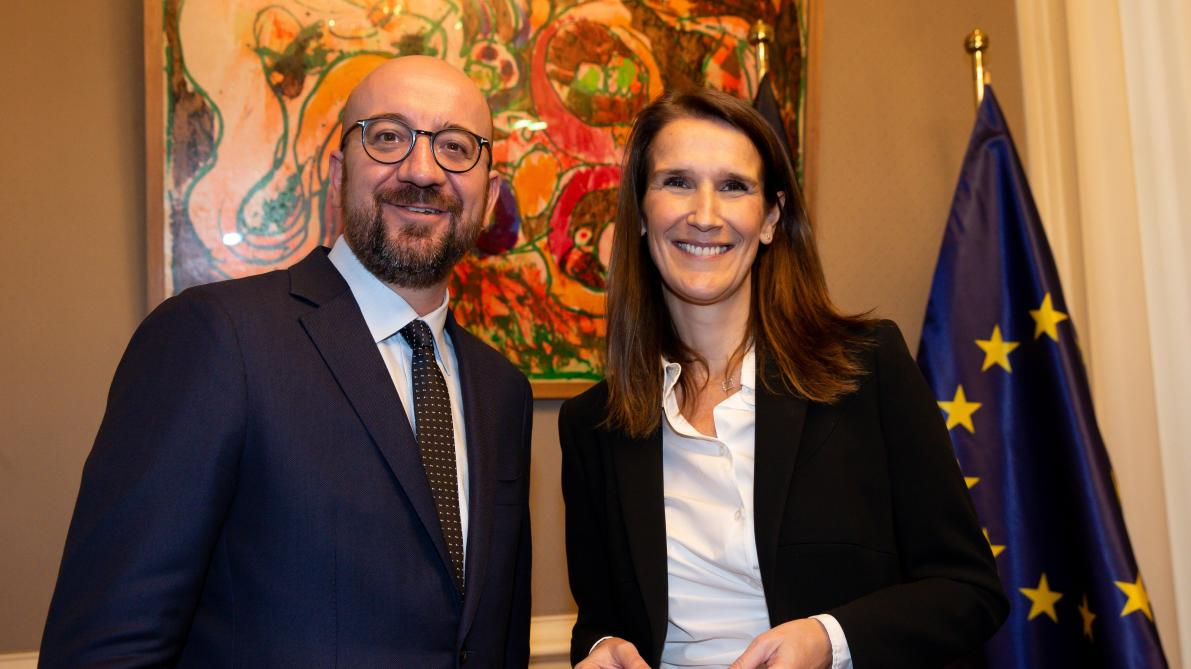 Sophie Wilmès nommée Première ministre par intérim — Belgique