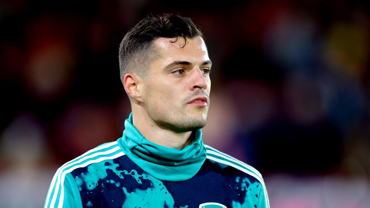 International : Arsenal : Granit Xhaka sort du silence