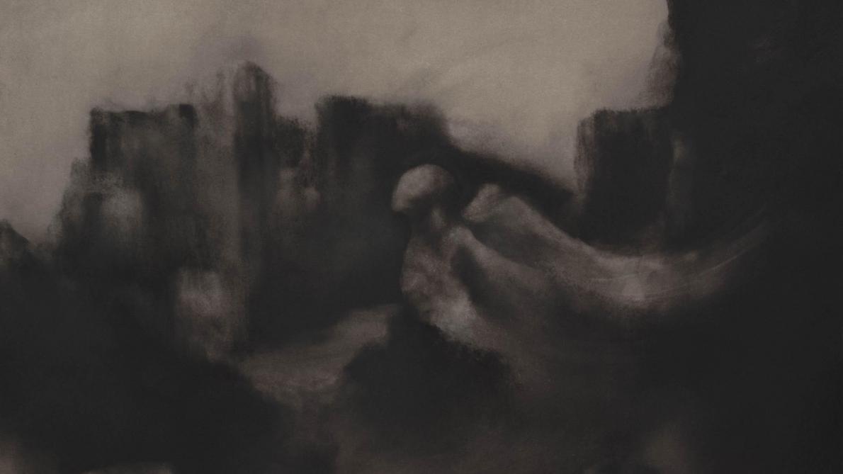 Richard Laillier, l'œuvre au noir