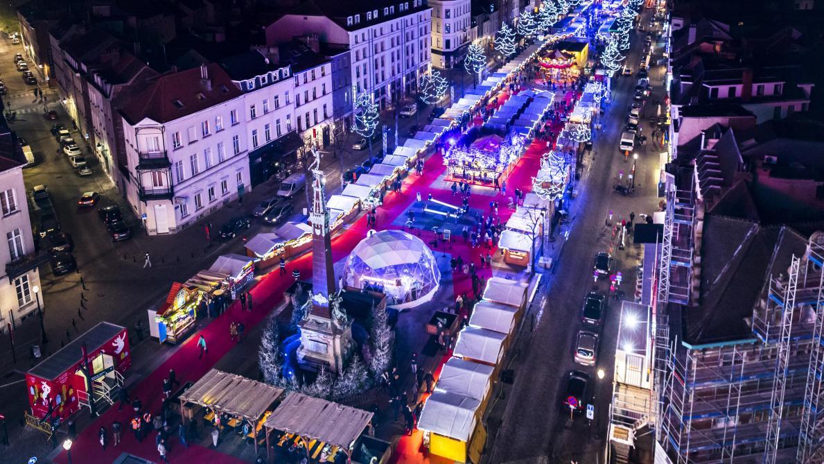 Bruxelles: les Plaisirs d'hiver s'installent en ville