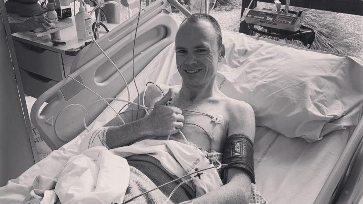 Christopher Froome opéré de la hanche et du coude avec succès