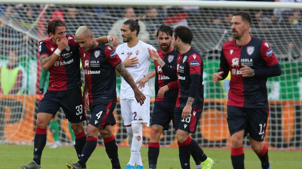 Un goal, trois assists: Radja Nainggolan fait le show dans la victoire de Cagliari face à la Fiorentina (5-2, vidéos)