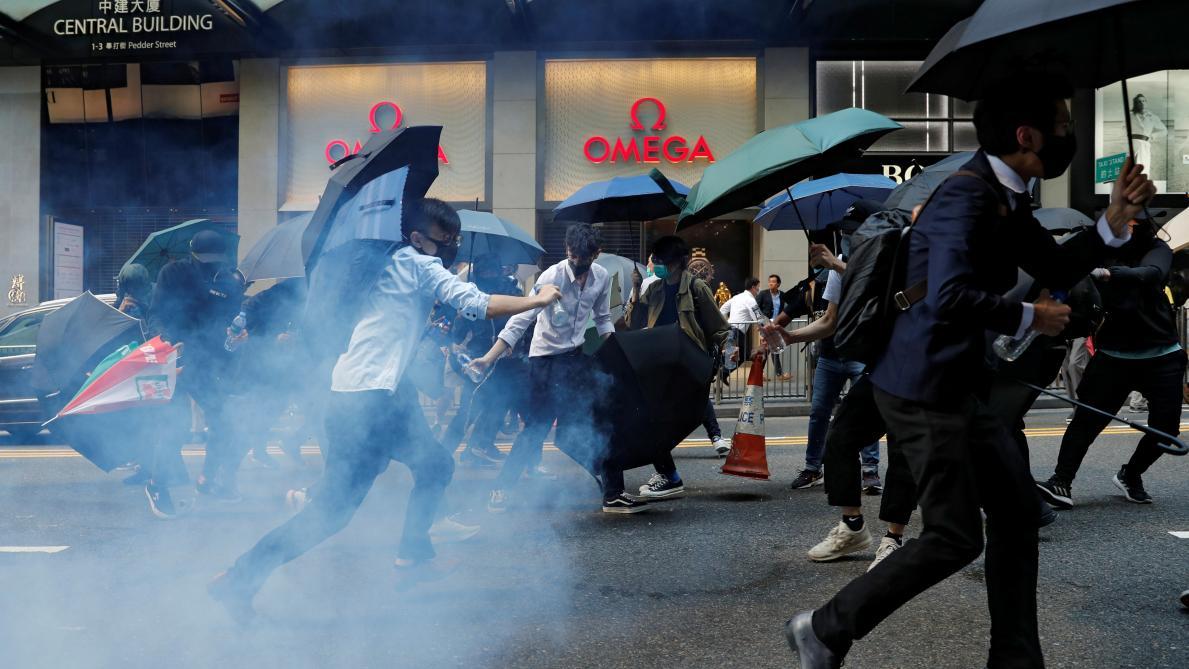 Londres juge «profondément troublantes» les violences à Hong Kong