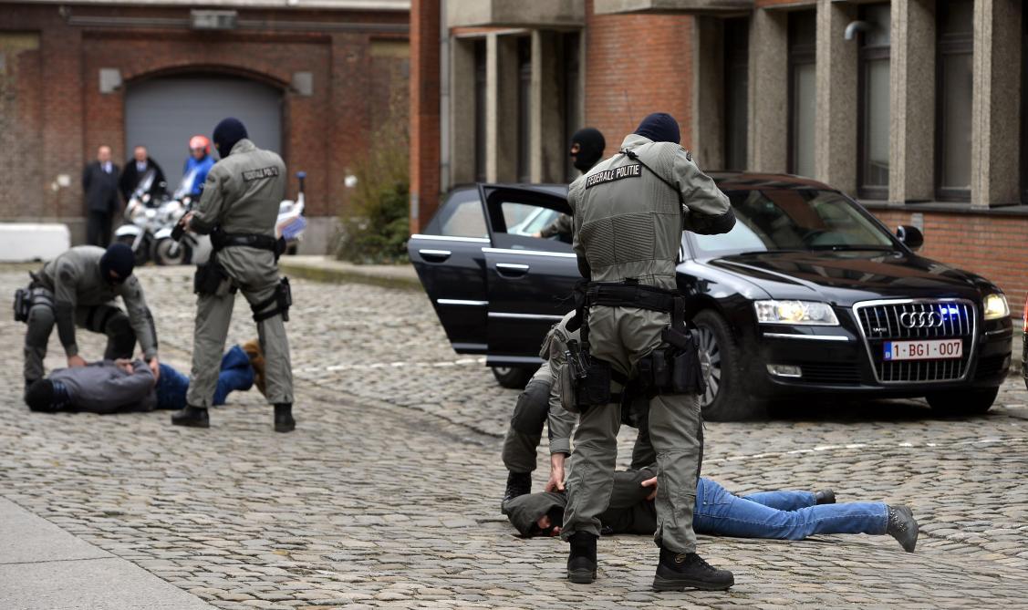 Des locaux bruxellois des unités spéciales de la police perquisitionnés