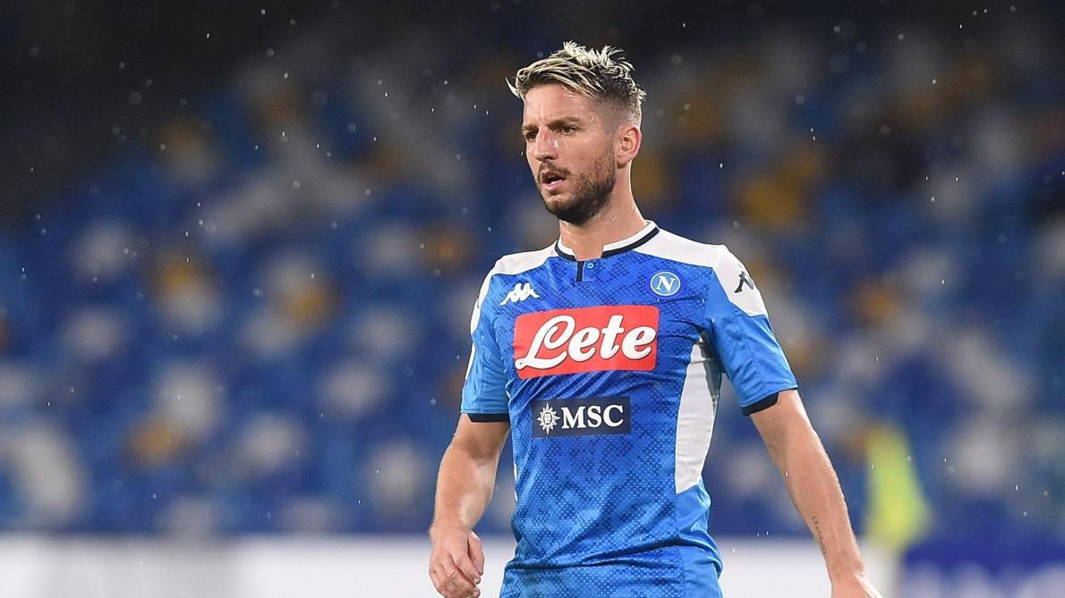 En conflit avec la direction de Naples, Dries Mertens pourrait rejoindre Romelu Lukaku à l'Inter Milan