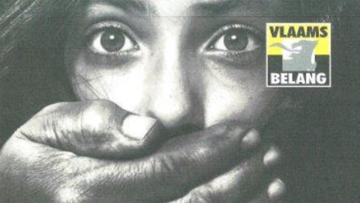 L'affiche insidieuse du Vlaams Belang