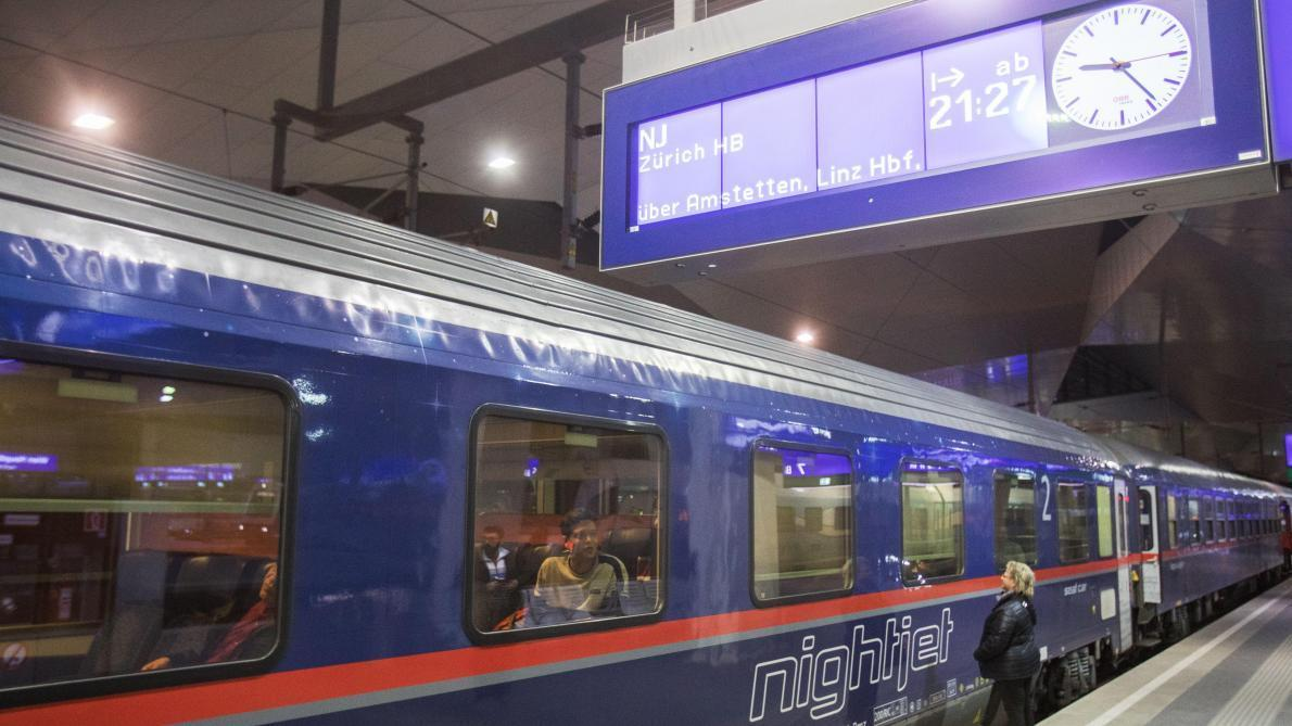 Train de nuit entre la Belgique et l'Autriche: les prix débuteront à 29,90 euros
