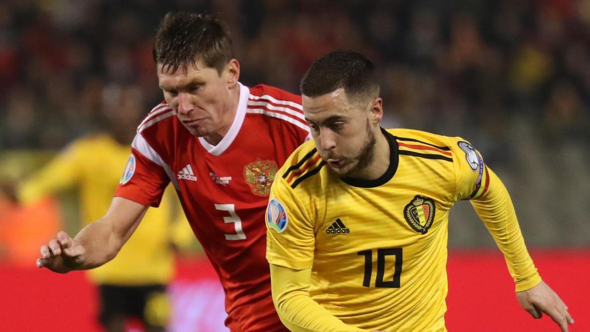 La Belgique et les frères Hazard laminent la Russie (1-4)