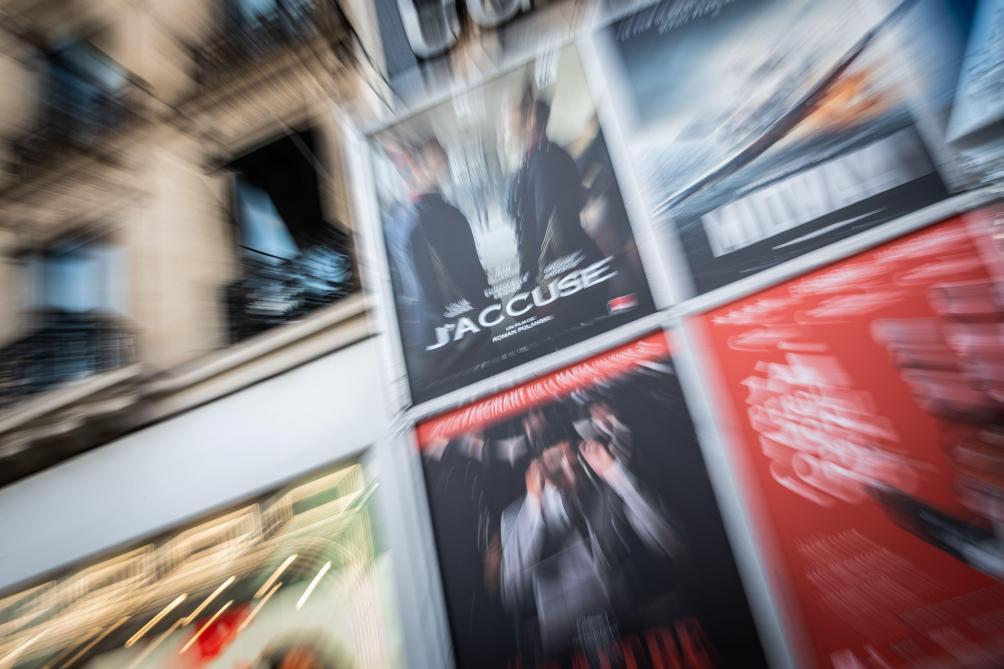 France: la projection de «J'accuse» perturbée, les salles évacuées