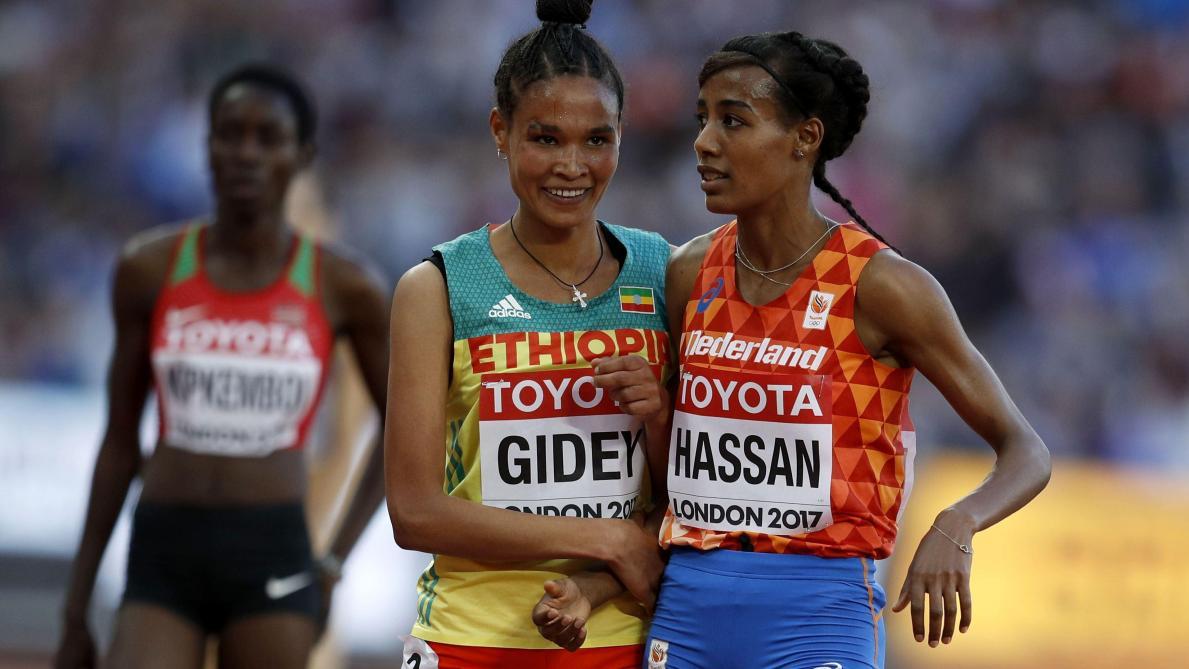 Athlétisme: Letesenbet Gidey bat le record du monde du 15 km