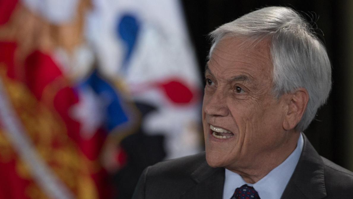 Le président reconnaît et condamne les violences policières — Chili