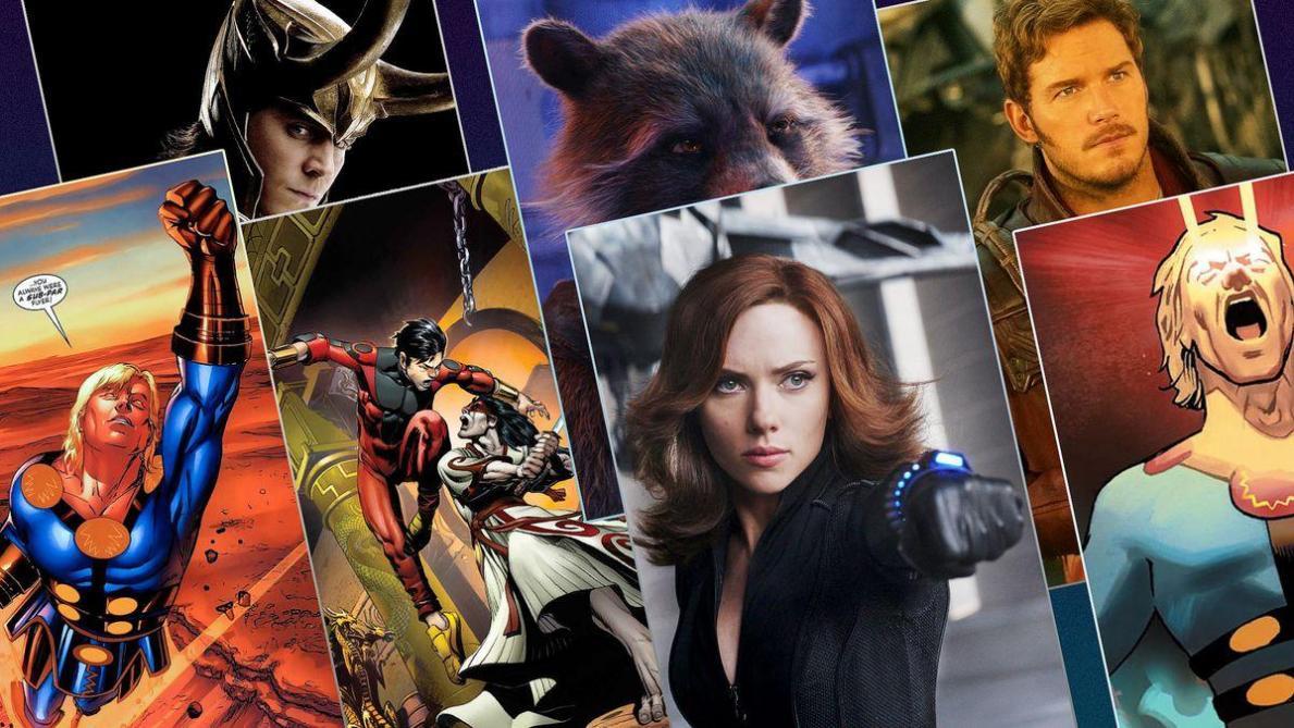 Disney annonce 4 nouveaux films Marvel