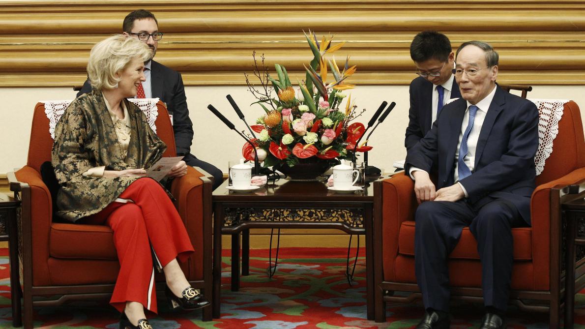 Les images de la Princesse Astrid en mission économique en Chine
