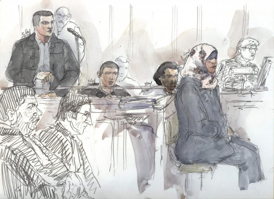 Perpétuité requise contre le jihadiste franco-marocain Bilal Taghi