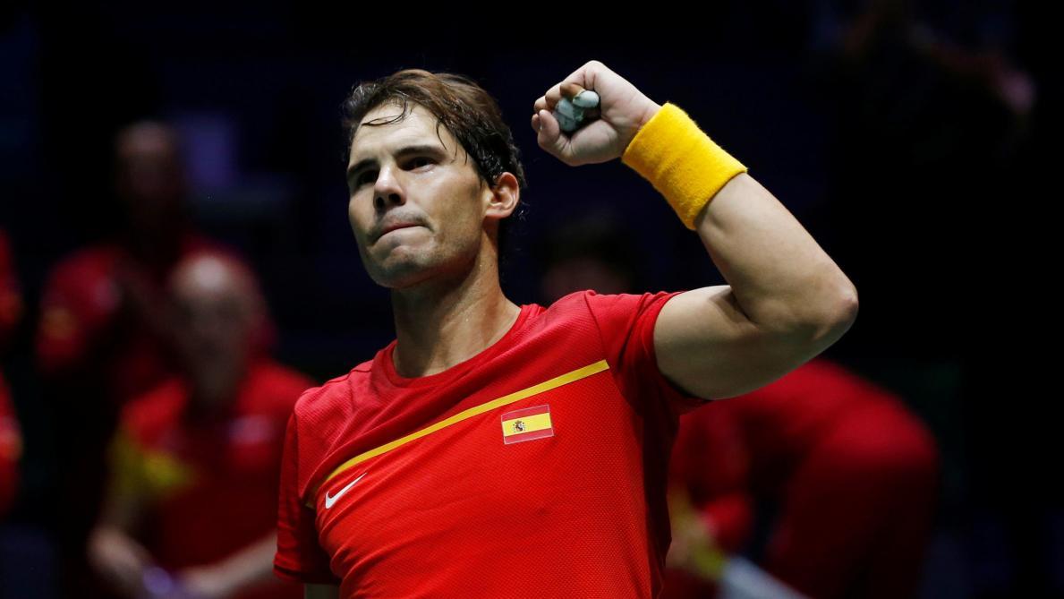 Le nouveau format de la Coupe Davis inquiète Rafael Nadal: l'Espagnol ne voit «pas d'autre solution» que la