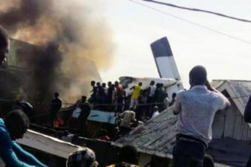 Crash d'un avion de la compagnie Busy Bee — Goma