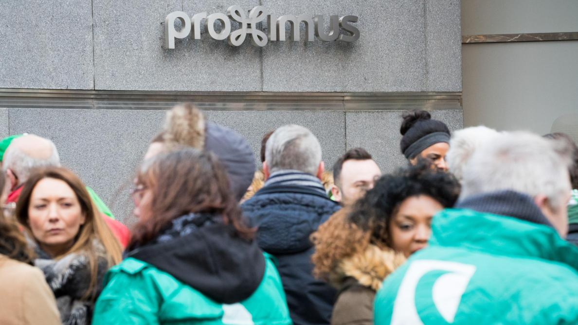 Proximus: les syndicats rejettent le plan de restructuration