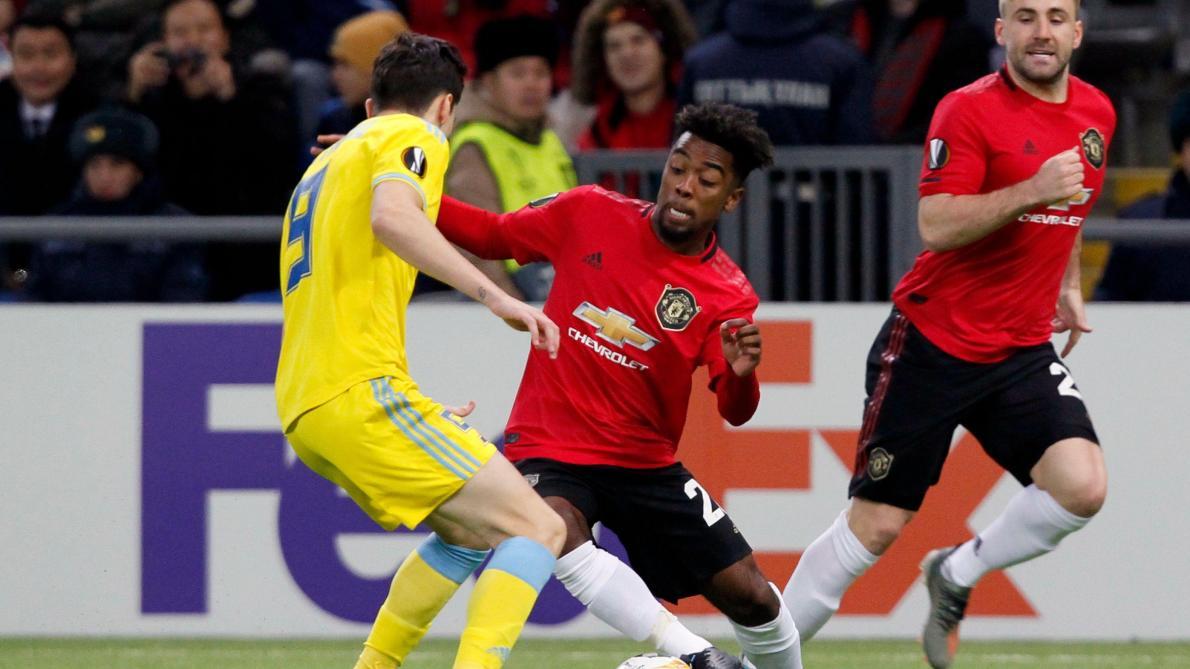 Manchester United : Chong rate un but tout fait
