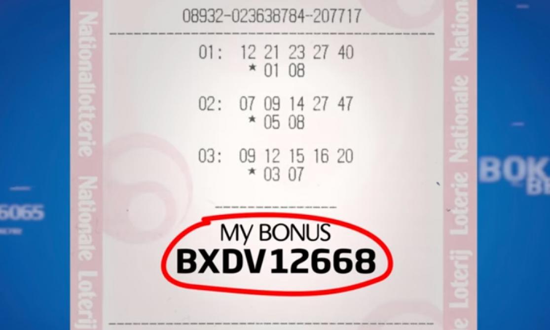 EuroMillions: 100.000 euros pour 25 Belges, voici les codes «My Bonus»