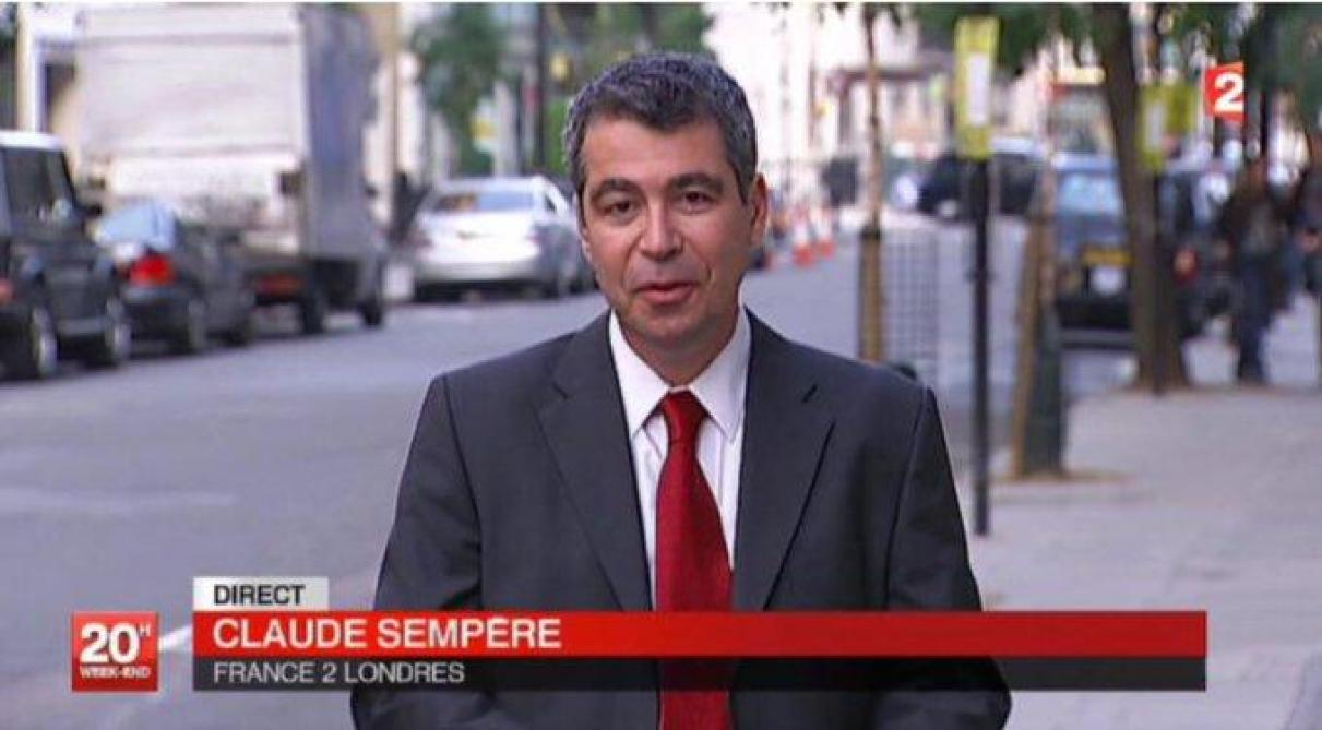 Le journaliste de France 2 Claude Sempère est mort