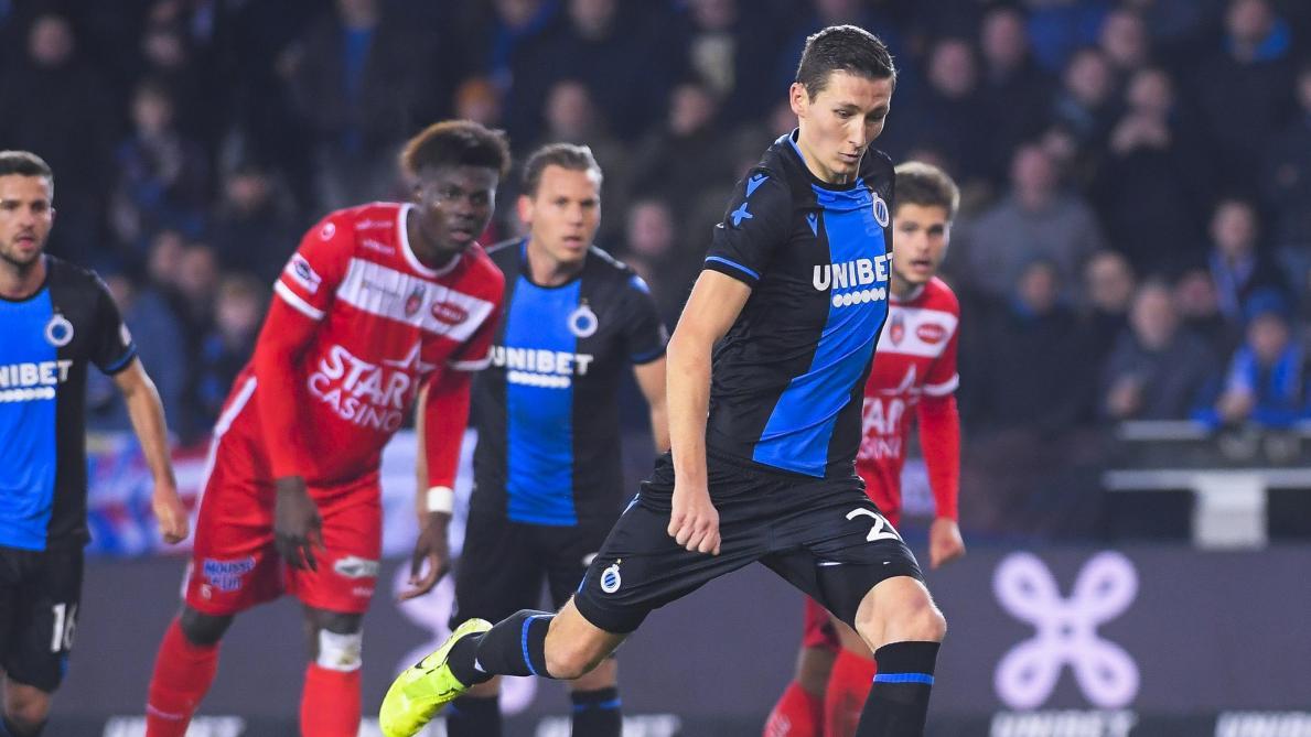 D1A: le FC Bruges s'impose dans la douleur contre l'Excel Mouscron et s'envole en tête du championnat (1-0)