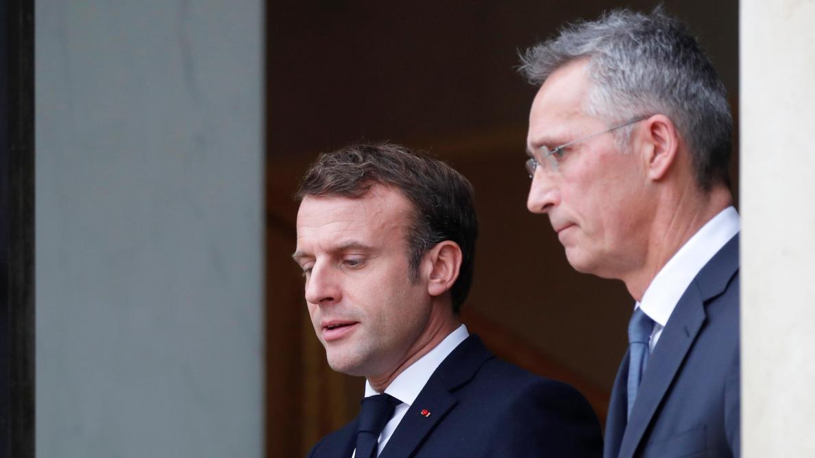 Donald Trump estime que la France rompt avec l'Otan