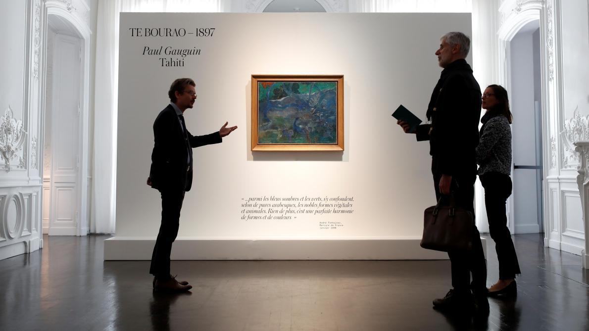 Un rare Gauguin de la période tahitienne vendu 9,5 millions à Paris