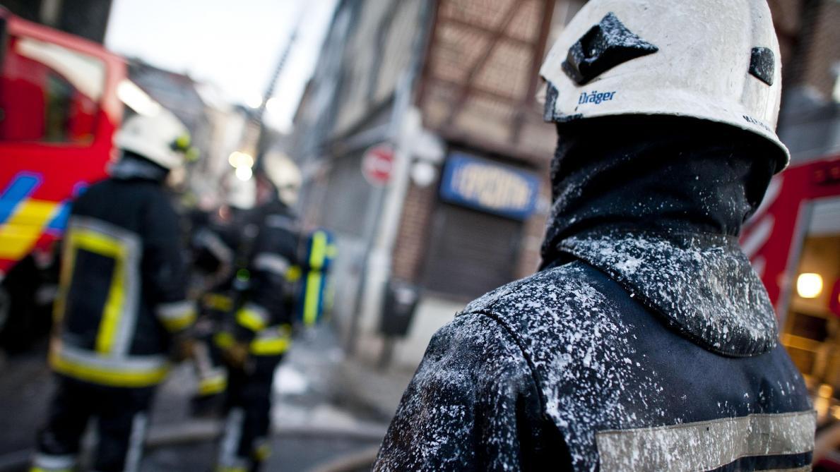 Incendie dans un immeuble à Molenbeek: deux personnes hospitalisées