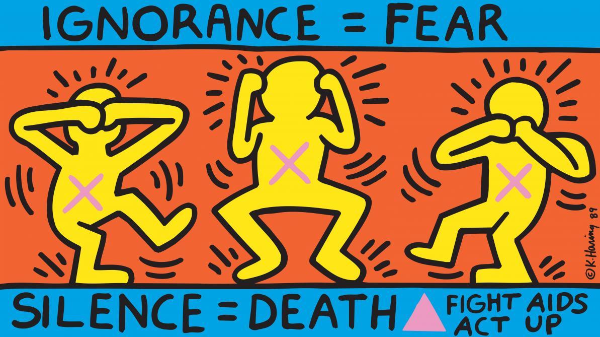L'expo 4 étoiles de la semaine: Keith Haring, l'engagement à la portée de tous