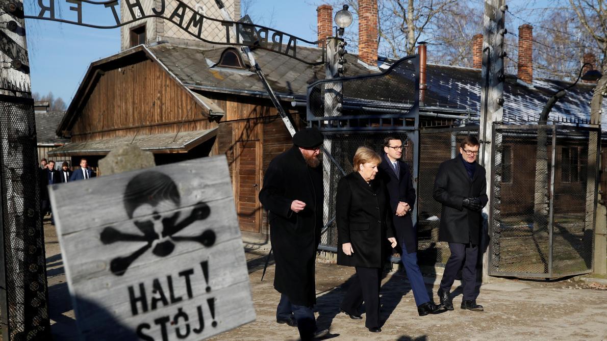 Angela Merkel à Auschwitz