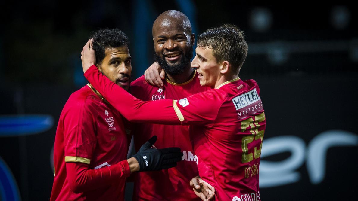 D1A: l'Antwerp se promène à Waasland-Beveren et grimpe à la deuxième place (0-4)