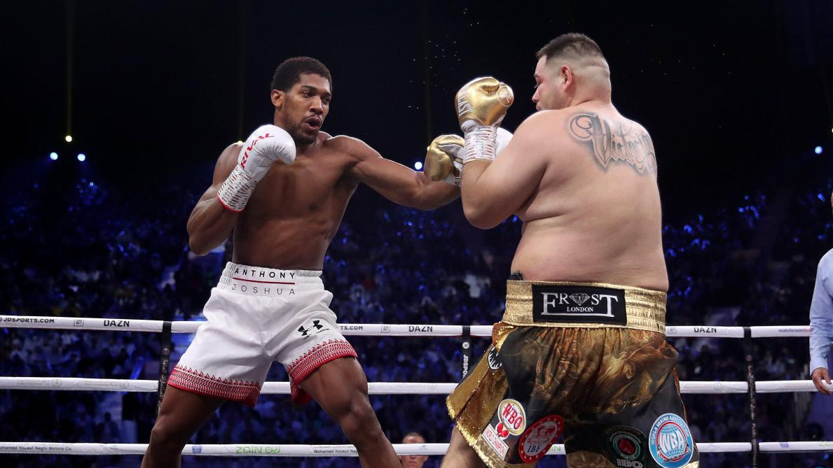 Boxe: Anthony Joshua, vainqueur aux points de la revanche contre Andy Ruiz Jr, récupère ses titres poids lourd