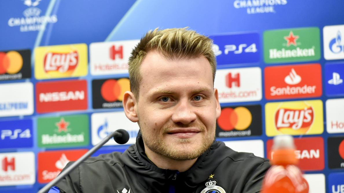 Simon Mignolet confiant avant le dernier match de Ligue des champions de Bruges: «Tout donner pour passer l'hiver européen»