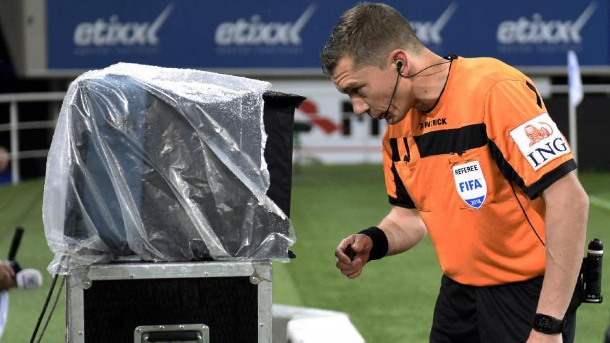 Coupe de Belgique: le VAR à disposition des arbitres à partir des quarts