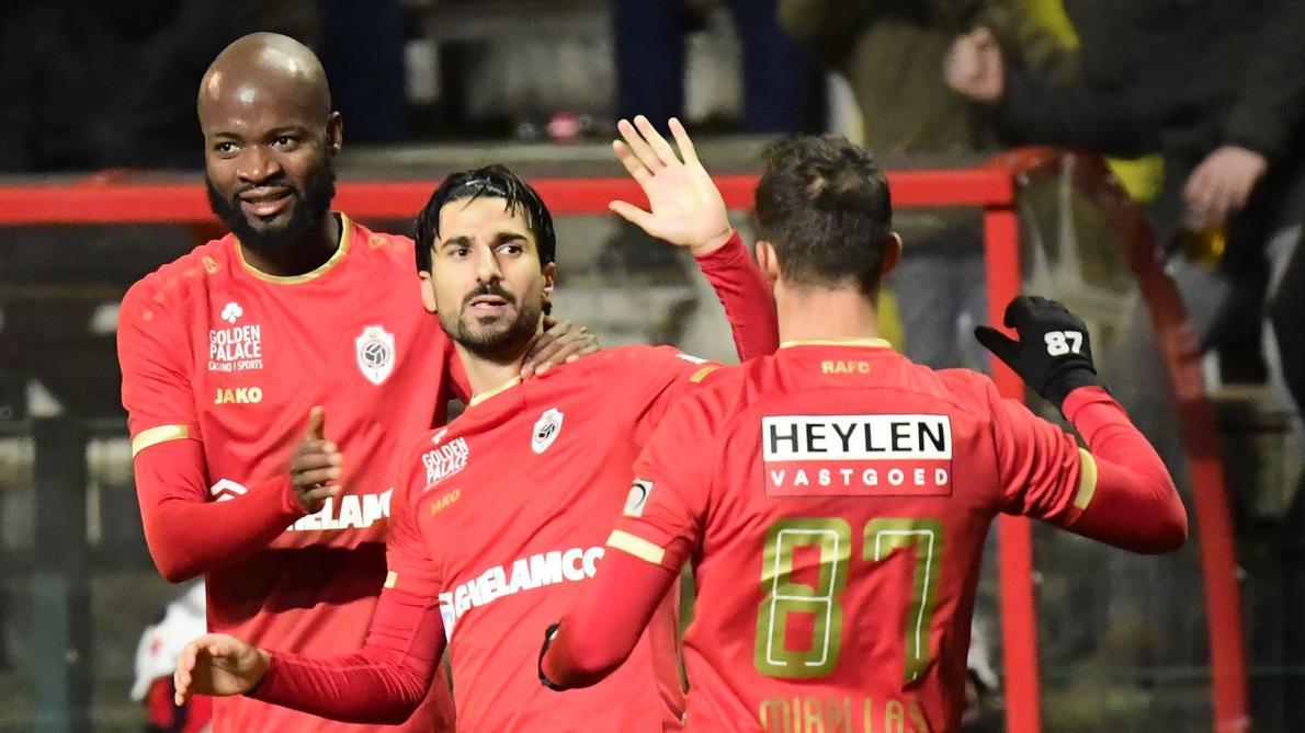 Un coup franc de Lior Refaelov sauve l'Antwerp face à Eupen (1-0)