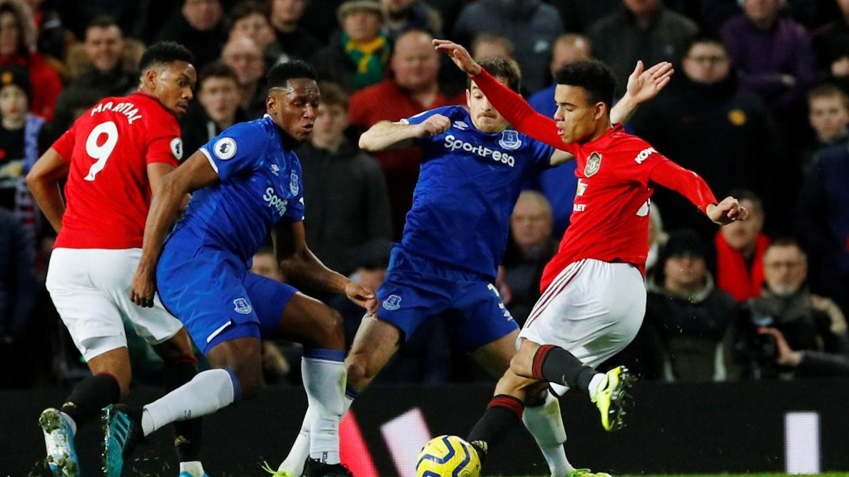 Premier League: Manchester United concède le nul face à Everton (1-1)