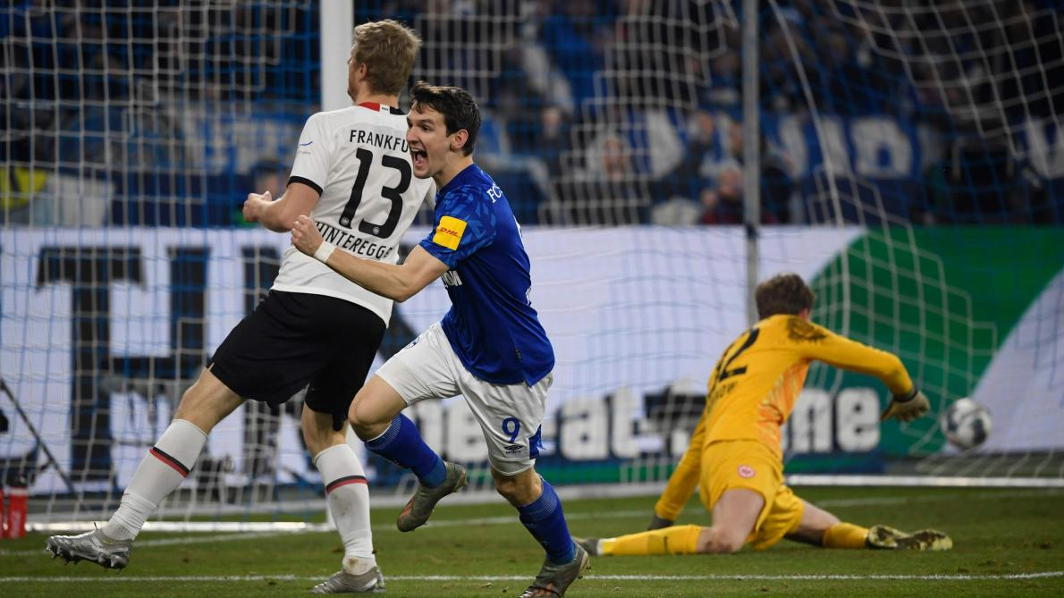Bundesliga: Benito Raman offre la victoire à Schalke 04 contre Francfort (vidéo)