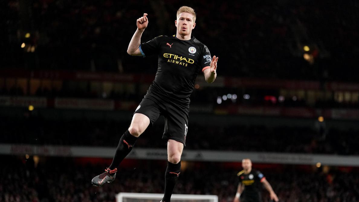 Kevin De Bruyne marche sur l'eau avec Manchester City