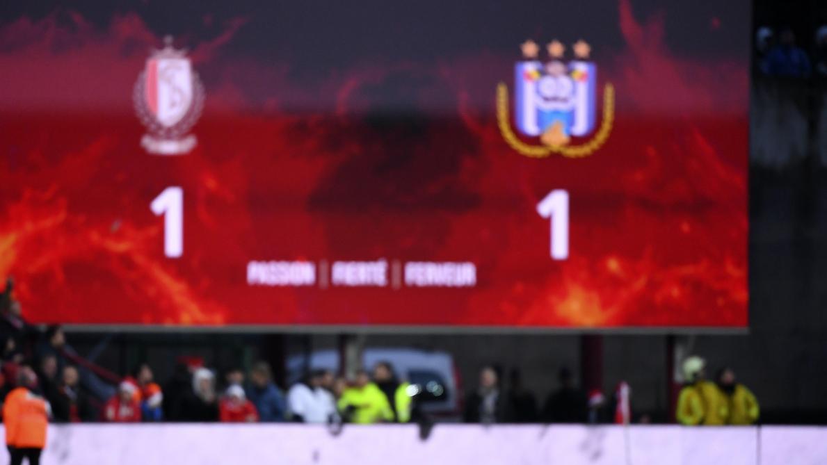 Le Standard et Anderlecht partagent l'enjeu: revivez les meilleurs moments du Clasico en vidéo