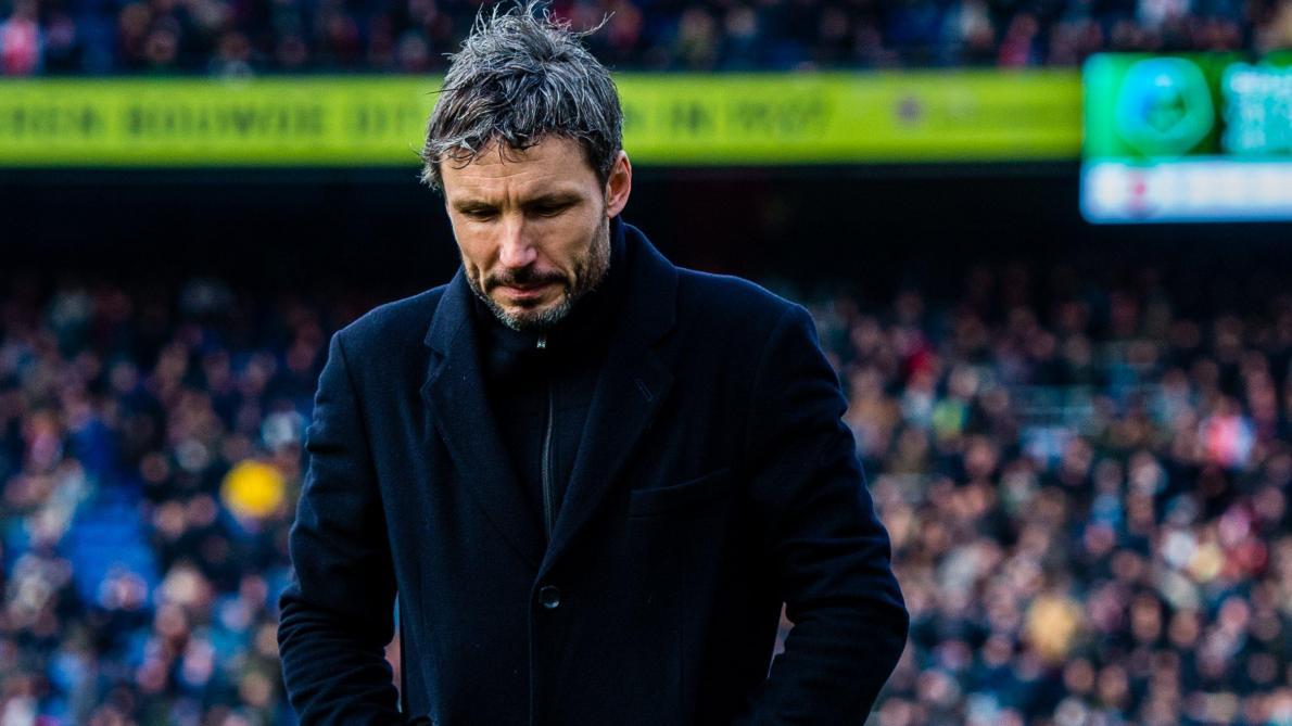 Eredivisie: le PSV Eindhoven se sépare de son entraîneur Mark van Bommel