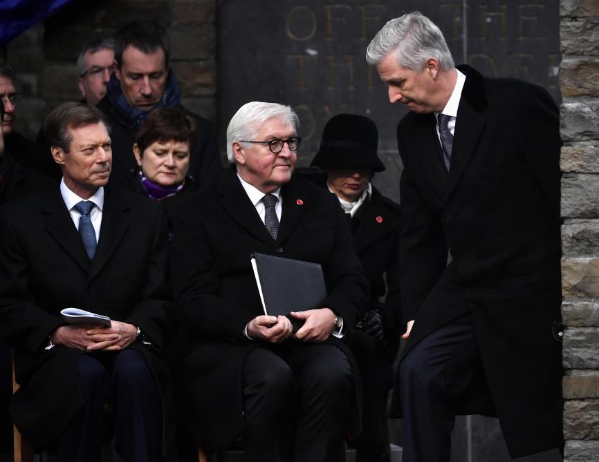 Commémorations de Bastogne : « Je sais que cela ne va pas de soi que je sois là »