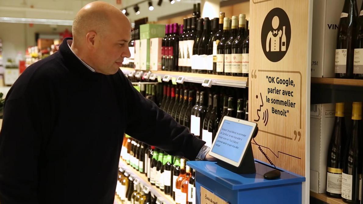 Intelligence artificielle: Google débarque dans le rayon vin de votre supermarché