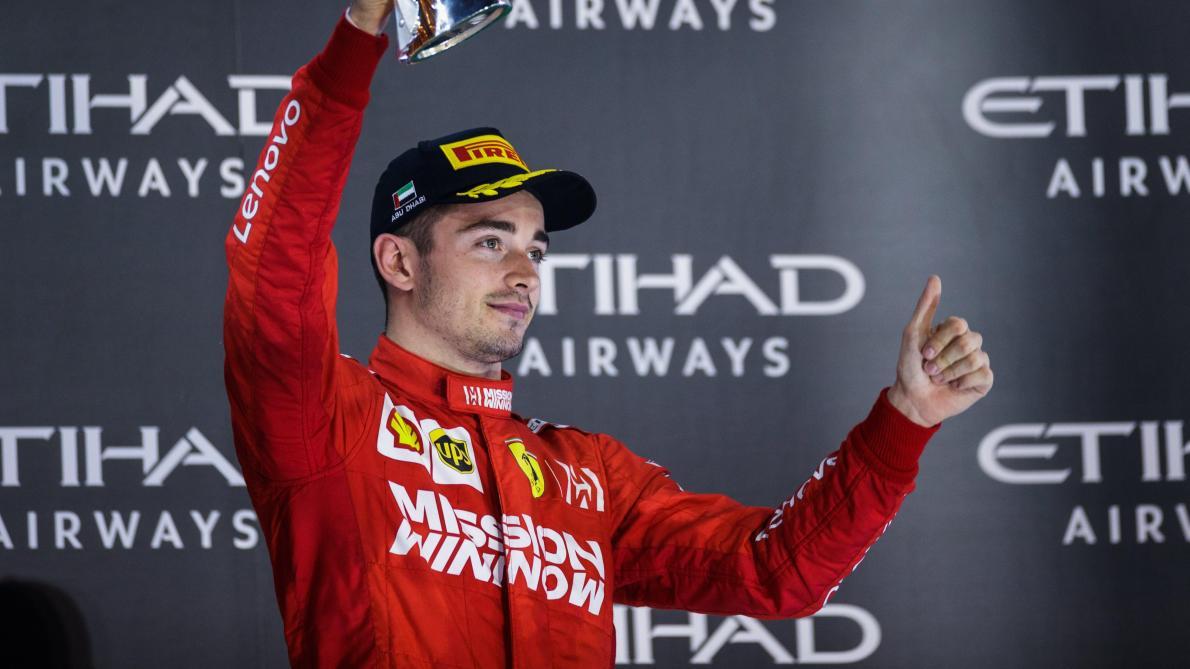 Charles Leclerc signe un nouveau contrat de cinq ans jusqu'en 2024 — Ferrari